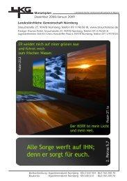 Monatsplan Dezember 2008 /Januar 2009 ... - Strauchstrasse
