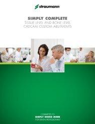 SIMPLY COMPLETE - Straumann Canada