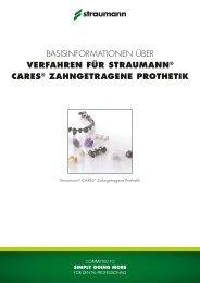Basisinformationen Zahngetragene Prothetik - bei Straumann ...