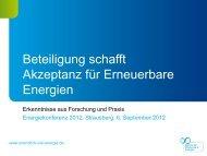 Erkenntnisse aus Forschung und Praxis. - Strausberg-Live