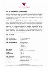 Factsheet - Strauss & Partner Development GmbH