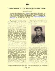 "Johann Strauss, Sr. — ""A Musician by the Grace of ... - StraussUSA.org"