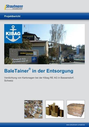 Entsorgung Kibag - Strautmann Umwelttechnik