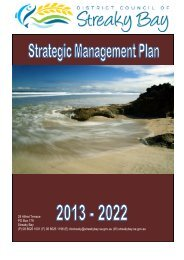 Strategic Management Plan 2013-2022 - District Council of Streaky ...