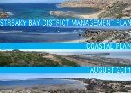 streaky bay district management plan coastal plan august 2011