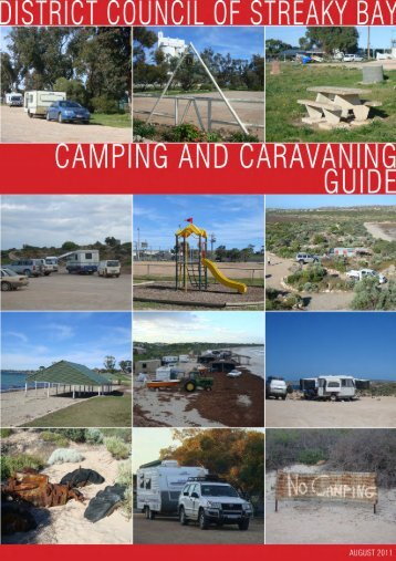 Streaky Bay Caravan and Camping Guideline - District Council of ...