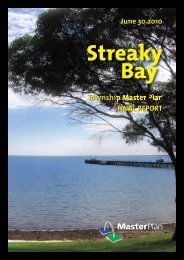 PLANNING REPORT - District Council of Streaky Bay