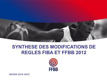 synthese modifications 2012