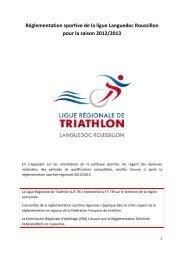 réglementation sportive régionale - Quomodo