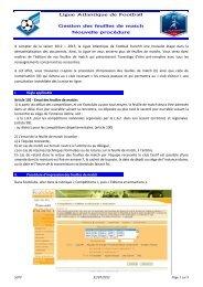 lien fichier ligue - Quomodo