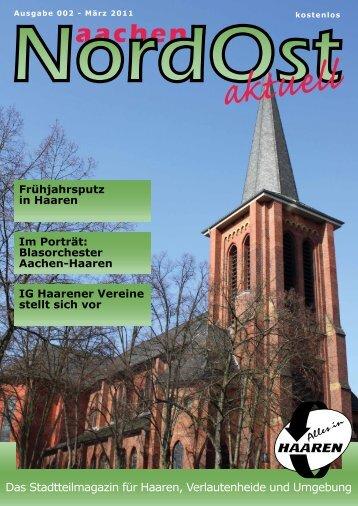 Nordost aktuell - Ausgabe 002 - März 2011 - Euregio-Aktuell.EU