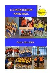 E.S MONTGERON HAND-BALL - Quomodo