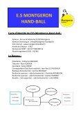 E.S MONTGERON HAND-BALL - Quomodo - Page 2