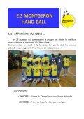 E.S MONTGERON HAND-BALL - Quomodo - Page 6