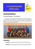 E.S MONTGERON HAND-BALL - Quomodo - Page 7