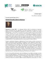 Richard Desjardins adopte la Mégiscane - Coalition Eau Secours