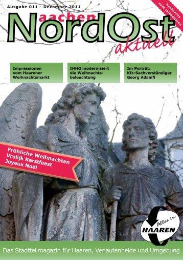 Nordost aktuell - Ausgabe 011 - Dezember 2011 - Euregio-Aktuell.EU