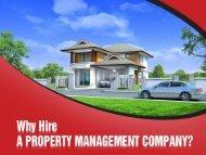 Benefits of hiring property manager in La Mirada