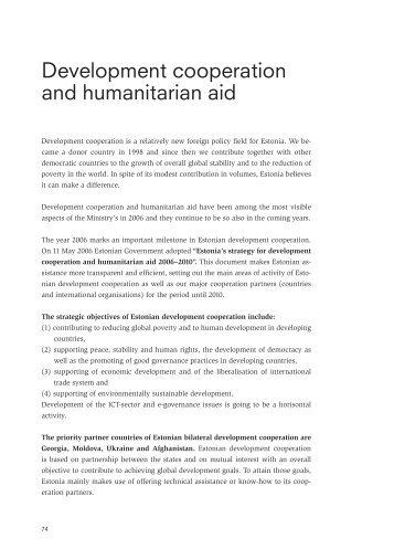 humanitarian aid and development assistance cosmopolitanism The impact of humanitarian aid on conflict development be shunned if the way humanitarian aid influences the development of on outside assistance.