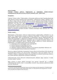 1 SELETUSKIRI Vabariigi Valitsuse määruse ... - Välisministeerium