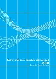 Eesti ja Soome koostöö võimalused 2008 - Valitsus