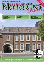 Nordost aktuell - Ausgabe 008 - September 2011 - Euregio-Aktuell.EU