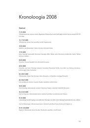 Kronoloogia 2008 - Välisministeerium