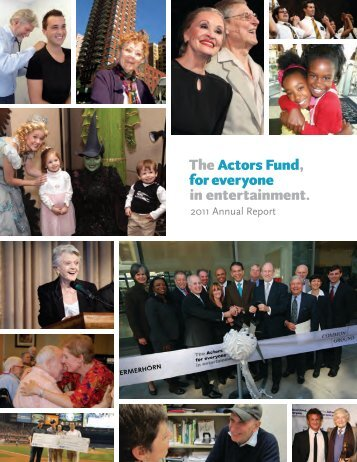 2011 Annual Report - The Actors Fund