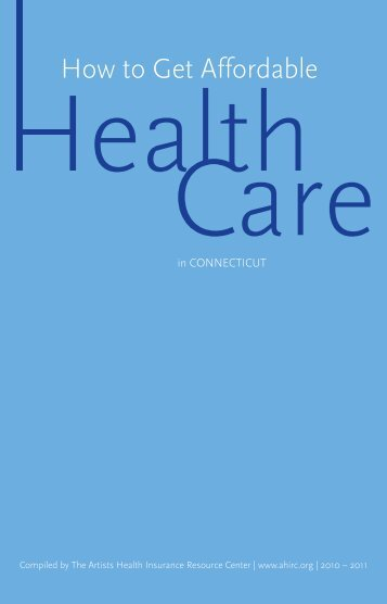 How To Get Affordable Health - The Actors Fund