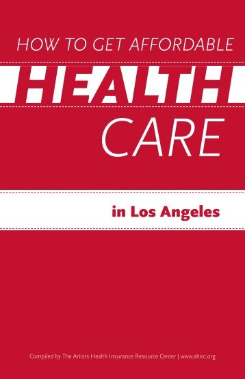 How to Get Affordable Health Care in Los Angeles - The Actors Fund