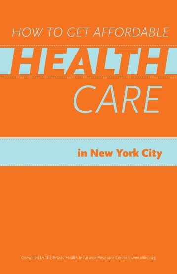 How to Get Affordable Health Care in New York City - The Actors Fund