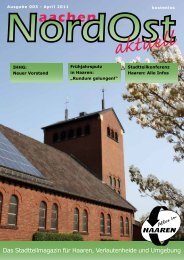 Nordost aktuell - Ausgabe 003 - April 2011 - Euregio-Aktuell.EU