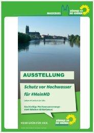 Ausstellung Schuz vor Hochwasser für #MeinMD