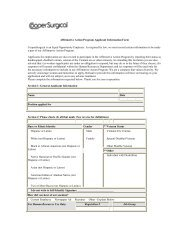 Applicant Self-Identification Form - CooperSurgical