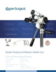 CooperSurgical Clinic and Practice Catalog