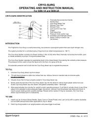 cryo-surg operating and instruction manual - CooperSurgical