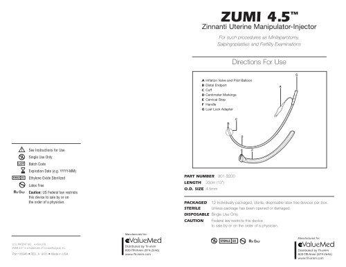 Zumi 45 Dfu 35946 Trianimqrk Coopersurgical