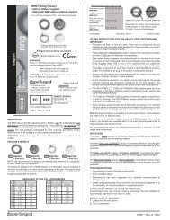 Silicone (Latex Free) English EC REP 0086 - CooperSurgical