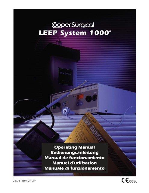 Operating Manual Bedienungsanleitung Manual ... - CooperSurgical