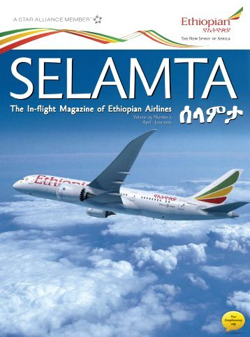 June 2012 Volume 29, Number 2 April - June 2012 - Ethiopian Airlines