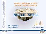 Nucleoshell - Pretech Instruments