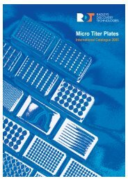 Titan Micro Titer Plates - Pretech Instruments