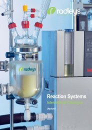 reaction systems - Pretech Instruments