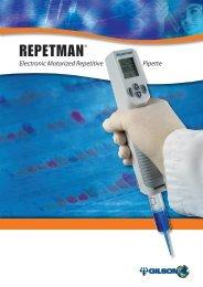 REPETMAN® Brochure - Gilson