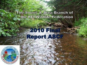 2010 Activities - The Atlantic Salmon Conservation Foundation