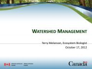 WATERSHED MANAGEMENT - The Atlantic Salmon Conservation ...