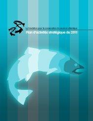 Plan d'activités stratégique de 2011 - The Atlantic Salmon ...