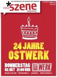 Neue Szene Augsburg 2014-09