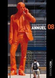 Rapport d'activités 2008 - pdf - Grand Lyon