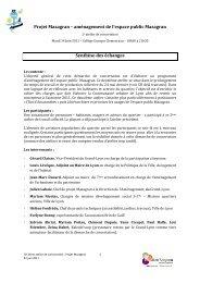 Projet Mazagran – aménagement de l'espace public ... - Grand Lyon